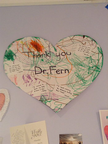 Patient Thank you for Dr. Fern, Pediatric Dentist in Rockland County and New City, NY